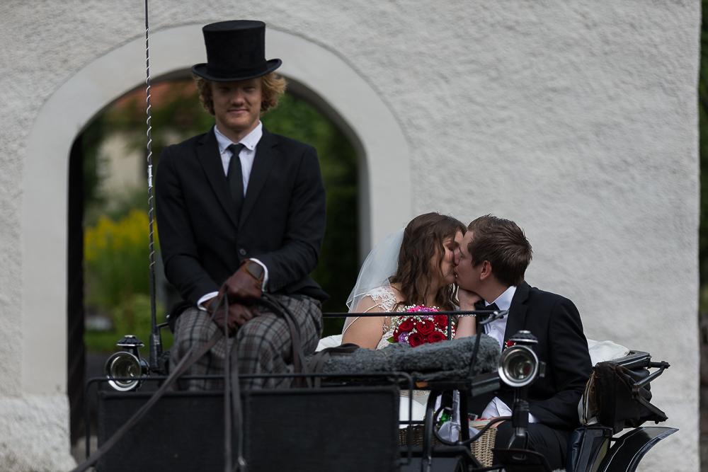 Nicole och Björn Täby kyrka 2017