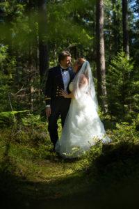 Malin & Mats bröllopsfotografering 2017