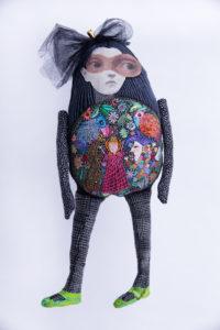 Produktbild Fru Strid - Maskerad-dockskulptur
