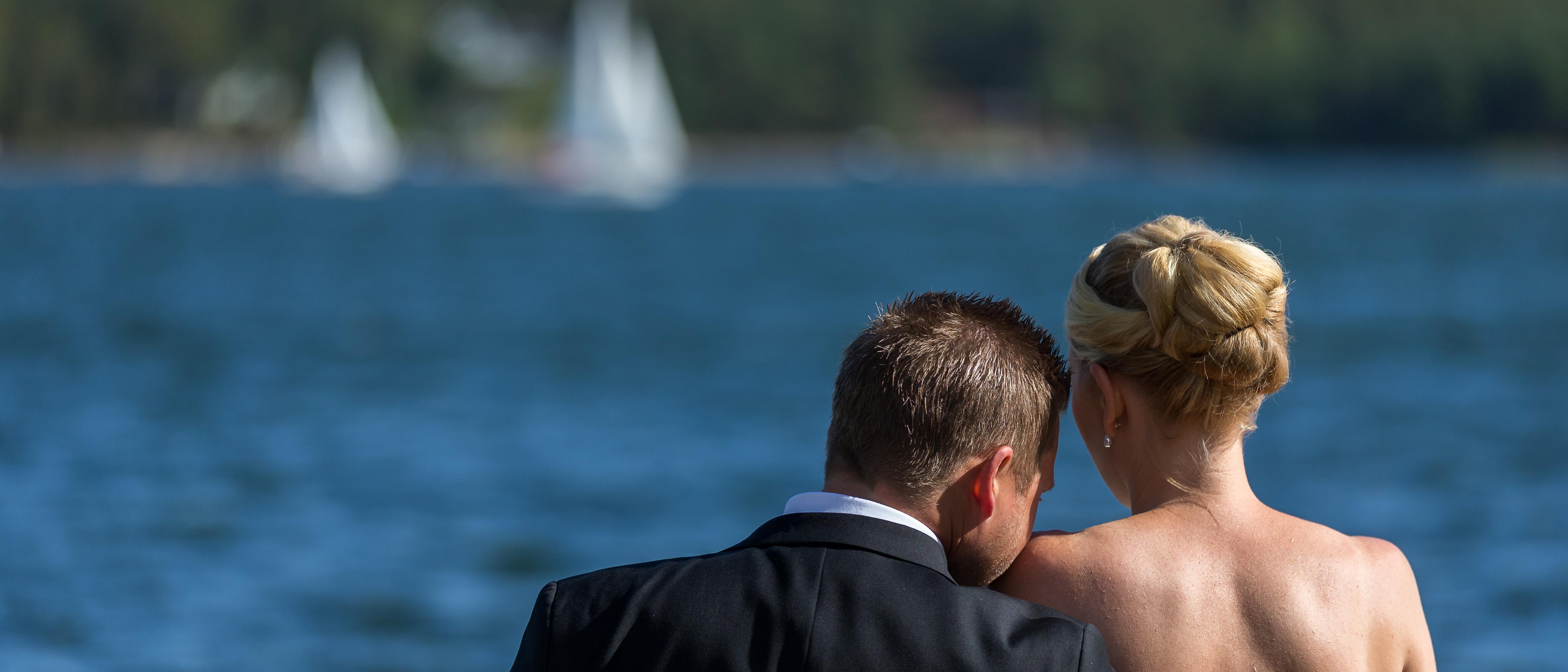 Bröllopsfotografering Sandra & Robin 2017
