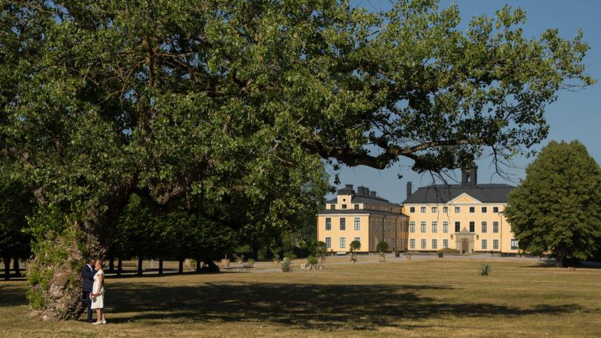 Bröllop Ulriksdals Slottspark