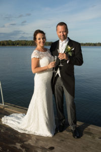 Jessica & Richard bröllopsfoto