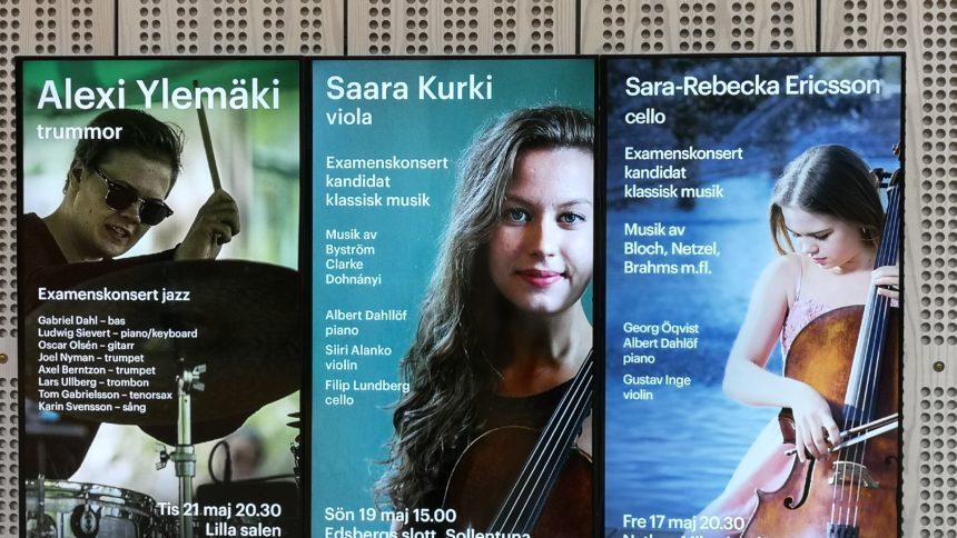 Kungliga Musik Högskolan - Examenskonsert med Rebecka