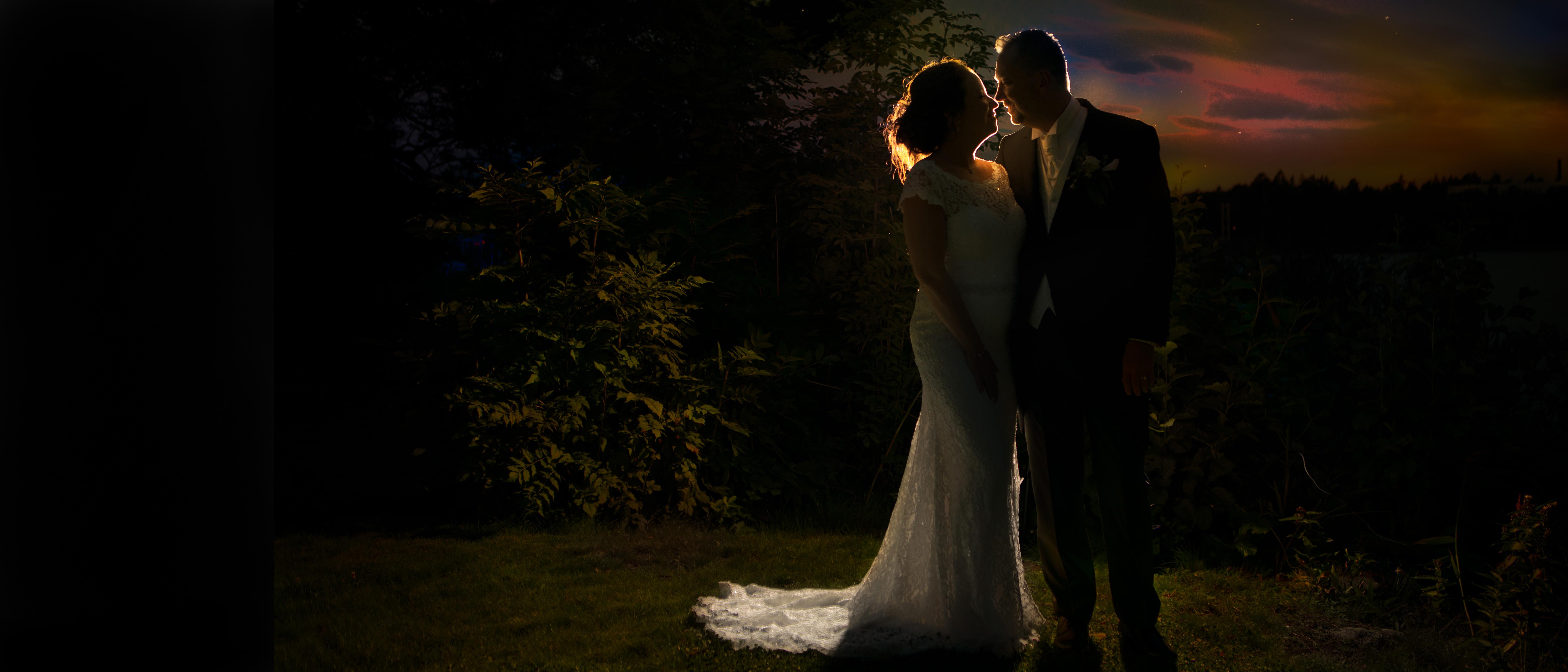 Bröllopsfotografering Jessica & Richard 2018