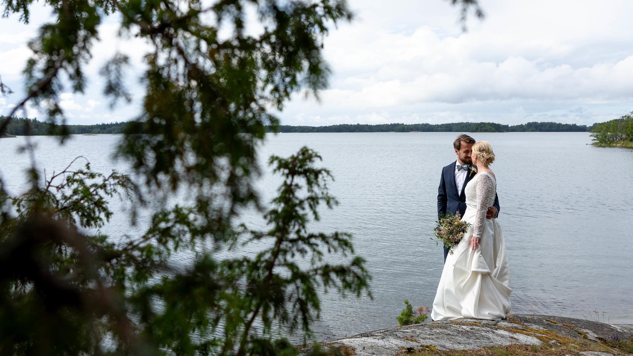 Bröllopsfotografering Evelina & Daniel 2019