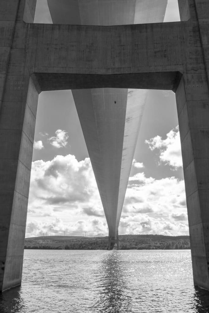 Höga kusten bron - Vinnarbild utställningen 100-bilder 2020