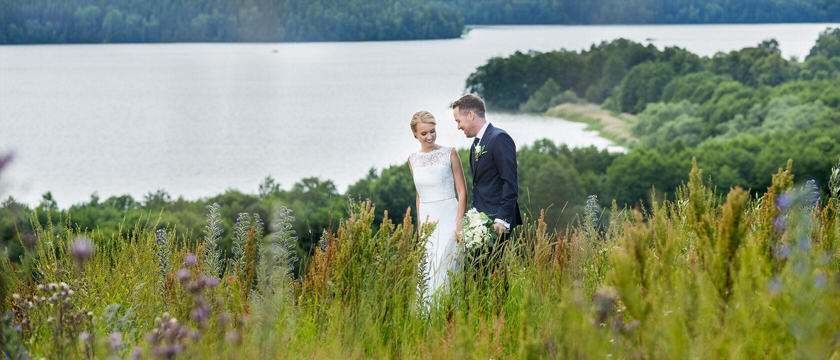 Bröllopsfotografering Ekerö Stockholm