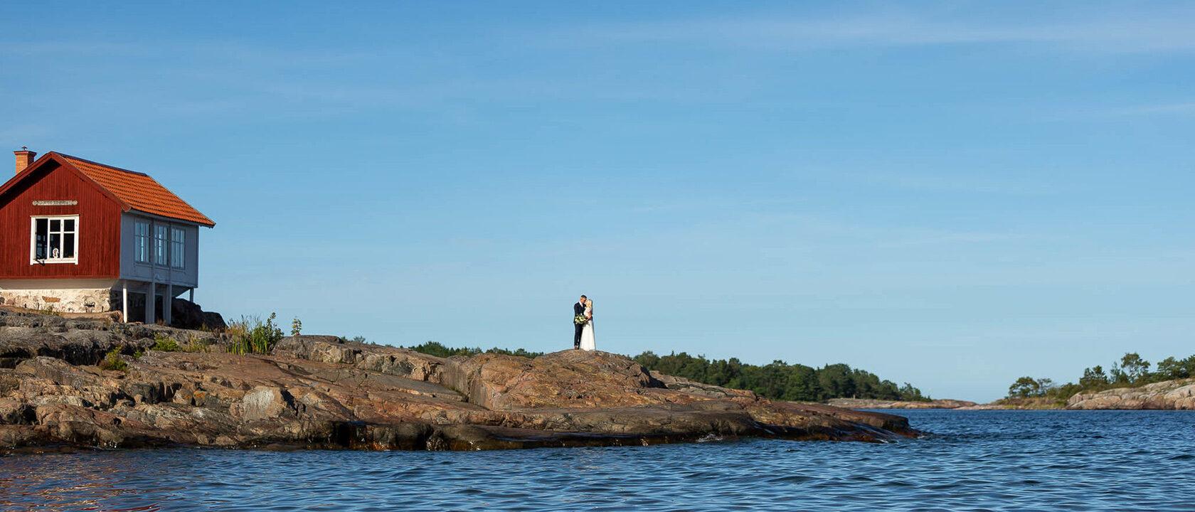 Bröllopsfotografering Grisslehamn Väddö Roslagen Skärgård