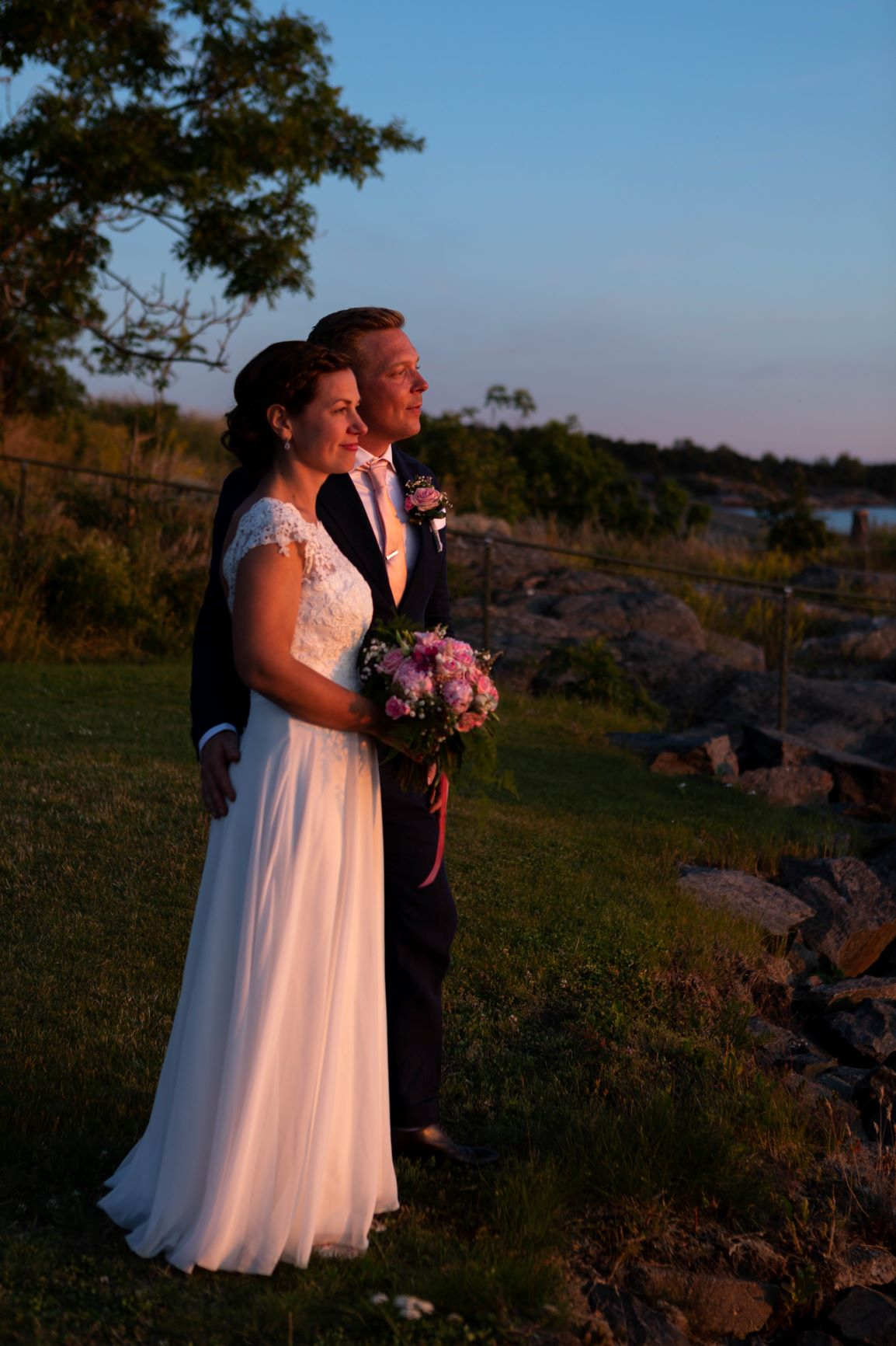 Bröllopsfotografering Öregrund Roslagen